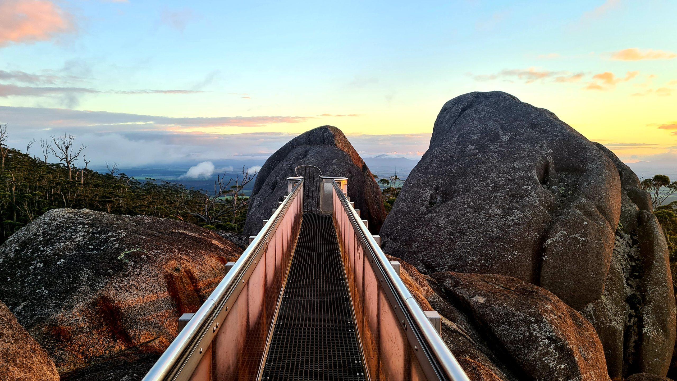 Park Narodowy Porongurup Granite Skywalk