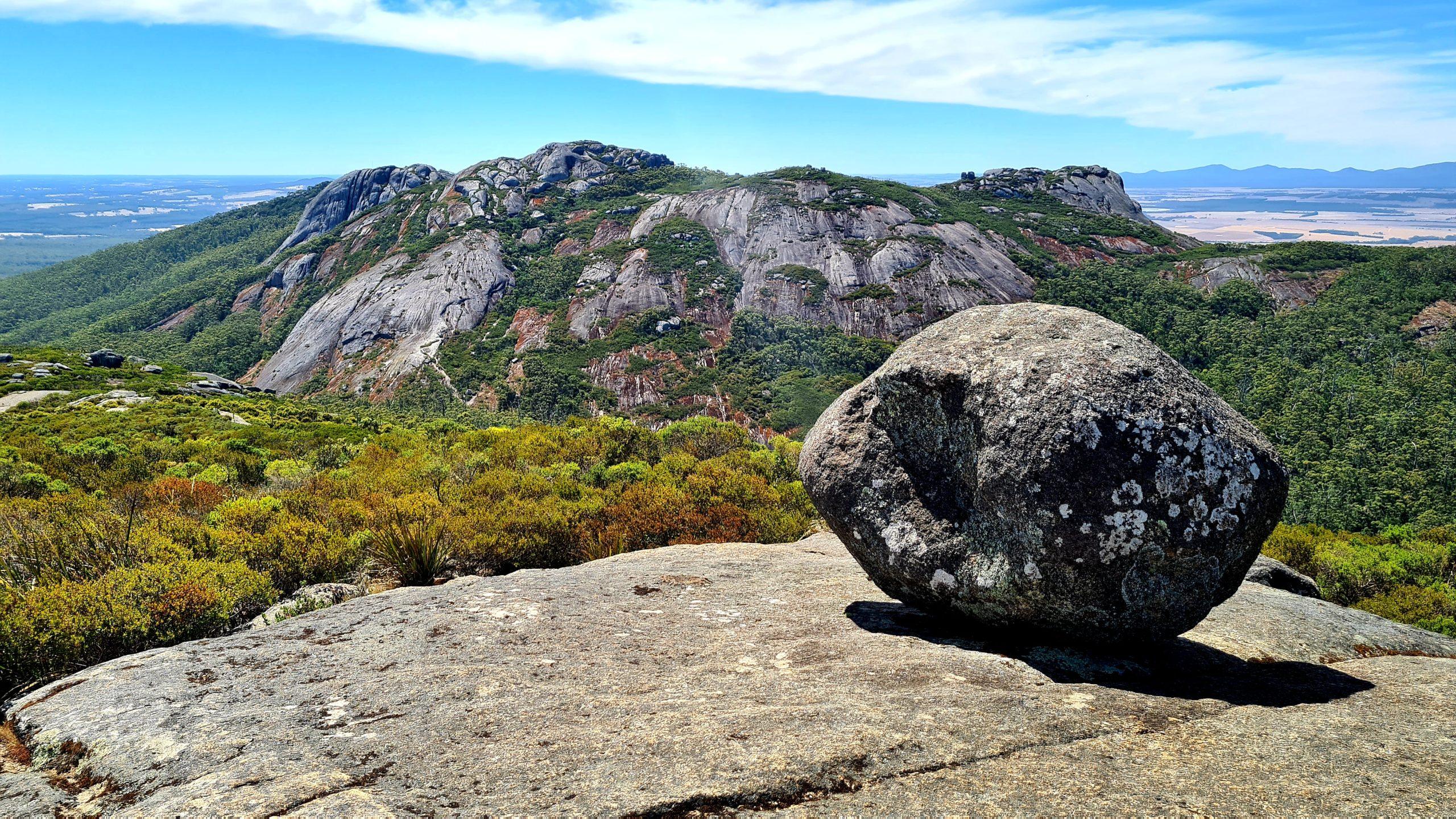 Park Narodowy Porongurup Hayward Peak i Nancy Peak